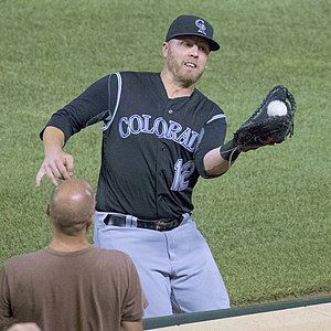 Mark Reynolds (baseball) - Reynolds with the Colorado Rockies in 2016