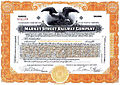 Market Street Railway Co. San Francisco stock certificate c1920.jpg