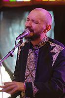 Marko Halanevych (DakhaBrakha) (Haldern Pop 2013) IMGP6720 smial wp.jpg