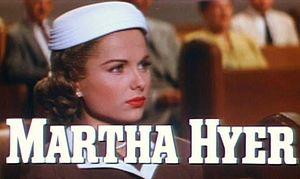 Martha Hyer - Martha Hyer in Battle Hymn (1957) trailer