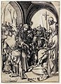 Martin schongauer, cristo davanti ad anna, 1480 ca.jpg