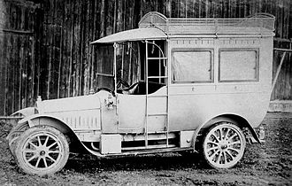 Martini (automobile company) - Martini Camionette from approximately 1907.