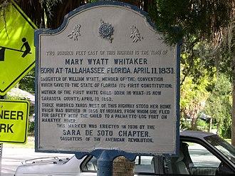William Whitaker (pioneer) - Image: Mary Wyatt Whitaker