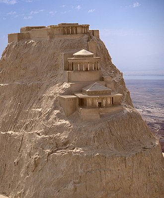 Masada - Model of the northern palace