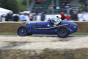 Birabongse Bhanudej - Image: Maserati 8CM at Goodwood FOS 2012