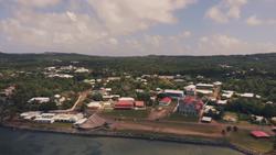 Aerial view of Mata Utu