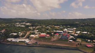 Mata Utu Place in Wallis and Futuna, France