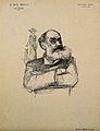Mathias Duval. Reproduction of drawing by J. Veber. Wellcome V0001729.jpg