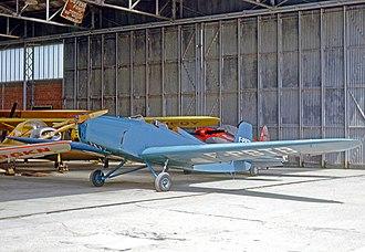Mauboussin M.120 - A Mauboussin M.127 at Guyancourt airfield near Paris in 1965