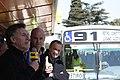Mauricio Macri inaguró el Metrobus Sur (9570676311).jpg
