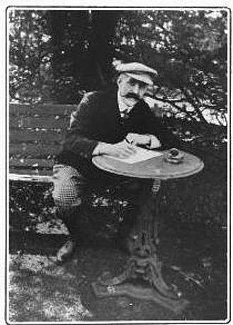 "Max Pemberton - ""I'm essentially an outdoor man."" ca. 1903"