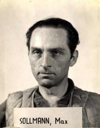Lebensborn - Max Sollmann before his trial at Nuremberg