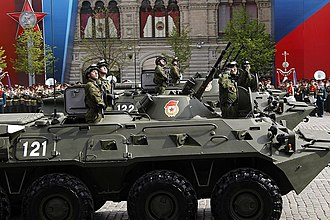 2011 Moscow Victory Day Parade - BTR-80