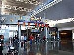 McCarran Airport D Gates welcome sign, Jan 2009.jpg