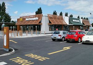 Leckwith development - McDonald's restaurant
