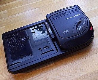 Sega CD - PAL Mega-CD II without a Mega Drive attached