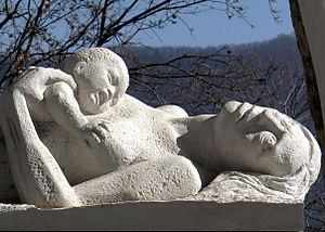 16th SS Panzergrenadier Division Reichsführer-SS - August 1944 Sant'Anna di Stazzema massacre memorial sculpture, 2012