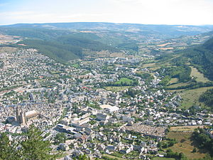 Mende, Lozère - Due east, with the N88, towards Badaroux and Langogne