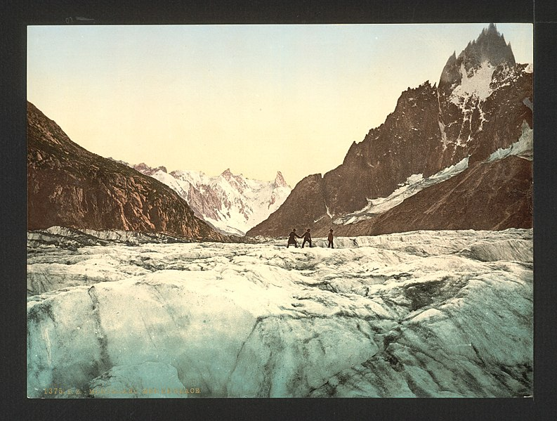 File:Mer de Glace, Mont Blanc, Chamonix Valley, France-LCCN2001697629.jpg