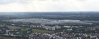 Rastatt - Mercedes-Benz factory in Rastatt