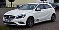 Mercedes-Benz A 180 CDI Urban (W 176) – Frontansicht, 9. August 2013, Velbert.jpg