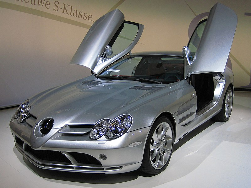 own: Mercedes Benz SLR McLaren