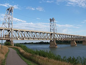 United States National Register of Historic Places listings - Meridian Bridge, Nebraska and South Dakota
