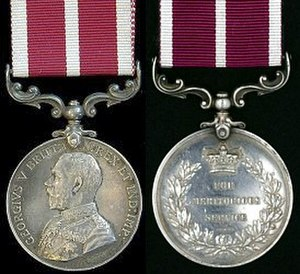 Meritorious Service Medal (United Kingdom) - Image: Meritorious Service Medal (United Kingdom) George V v 1