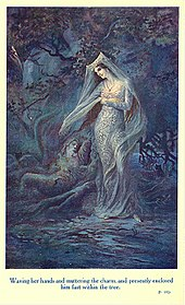 lady of the lake an arthurian villanelle