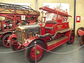 Merryweather & Sons - 1924 Merryweather 3 cylinder circular pump unit - South Africa.