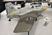 Messerschmitt Me163B-1a 'yellow 14' -191614- (A.M.207) (47045125242).jpg