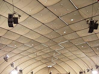 Hubert H. Humphrey Metrodome - Metrodome roof (1982–2010)