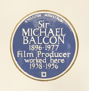 Michael Balcon blue plaque.jpeg