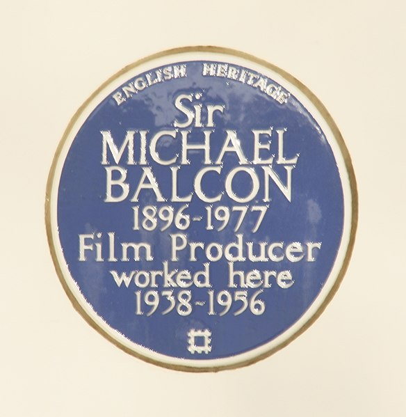 File:Michael Balcon blue plaque.jpeg