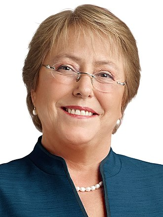 2013 Chilean general election - Image: Michelle Bachelet (2013) 4x 3 cropped