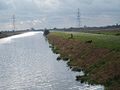 Middle Level Main Drain, fishing away the afternoon. - geograph.org.uk - 69167.jpg