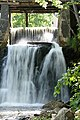 Mill's waterfall on Aleksupe - panoramio.jpg