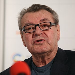 57th Academy Awards - Milos Forman, Best Director winner