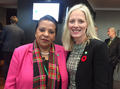 Minister McKenna with the Angola Minister of Environment, Maria de Fátima Jardim (22306777723).png