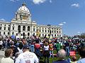 Minnesota Tax Cut Rally 2011 at the Minnesota Capitol (5697829480).jpg