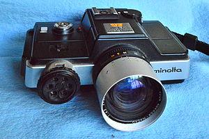 Minolta 110 Zoom SLR - Image: Minolta 110Zoom SLR 20130905