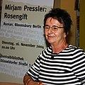 Mirjam Pressler, Roman Rosengift, Lesung in Duisburg, 2004.jpg