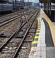 Mishima Station curved platform.jpg