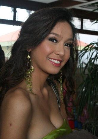Kanokkorn Jaicheun - Kanokkorn during Miss World 2007