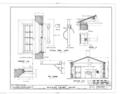 Mission Frame House, King and Kawaiahao Streets, Honolulu, Honolulu County, HI HABS HI,2-HONLU,19- (sheet 7 of 7).png
