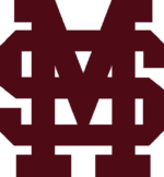 Mississippi State Bulldogs baseball athletic logo