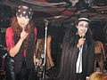 Mistress & Master of Ceremonies @ Halloween Ball 2007 in SHELTER.jpg