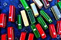 Model buses on sale at Stockwell bus garage open day.jpg