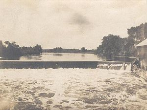 Buxton, Maine - Moderation Falls in 1907