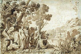 Bachus i Ariadna na Naksos